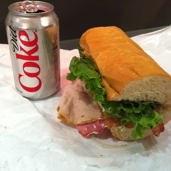 The Club - Turkey, Ham And Bacon @ East Side Delicatessen