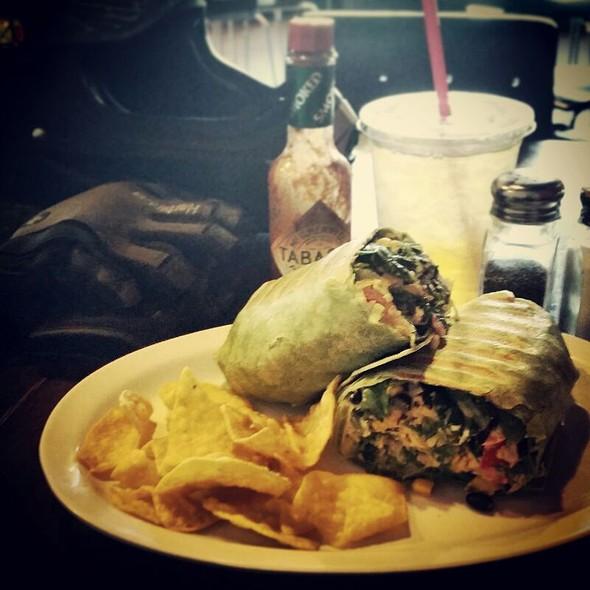 Veggie Wrap @ Madayne Eatery & Espresso