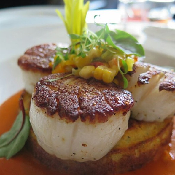 Sea Scallops @ Table On Post Oak