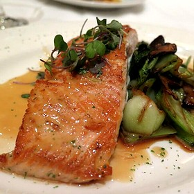 Salmon - Del Frisco's Double Eagle Steak House - Houston