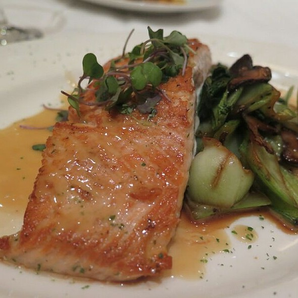 Salmon @ Del Frisco's Double Eagle Steakhouse