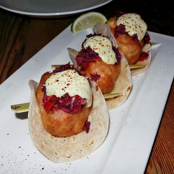 Lobster Tacos - Beauty & Essex- New York, New York, NY