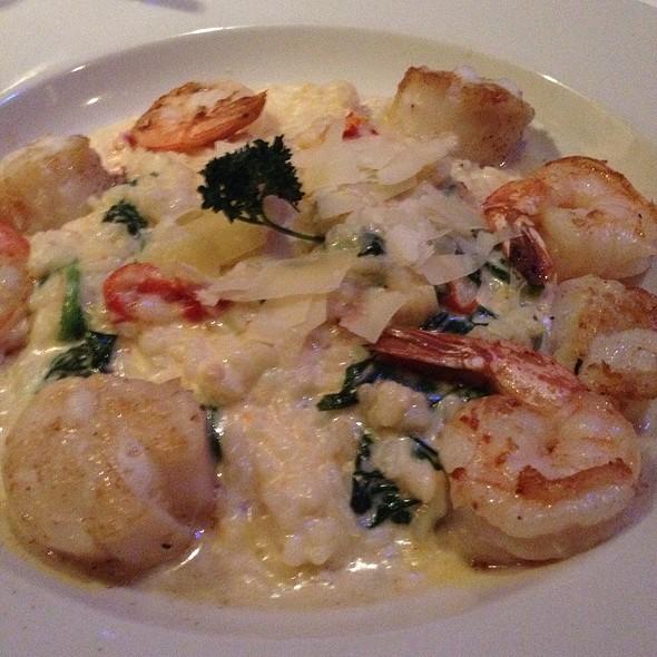 Shrimp And Scallops Risotto - Cobalt Grille, Virginia Beach, VA