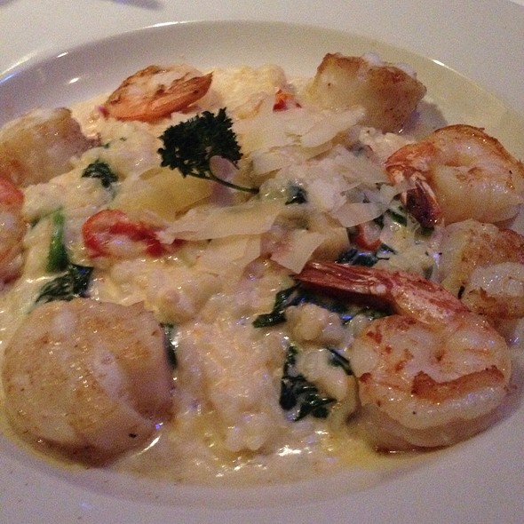 Shrimp And Scallops Risotto @ Cobalt Grille
