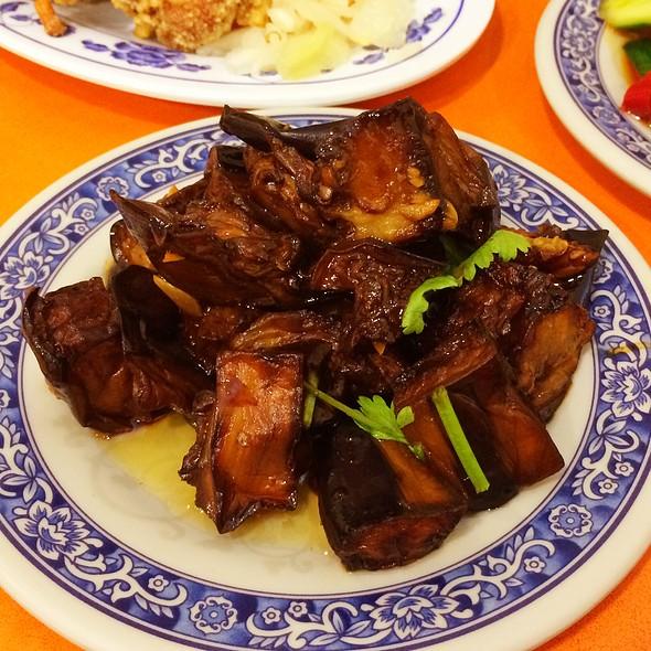 Soy Sauce Braised Eggplant @ Cho Dumpling King