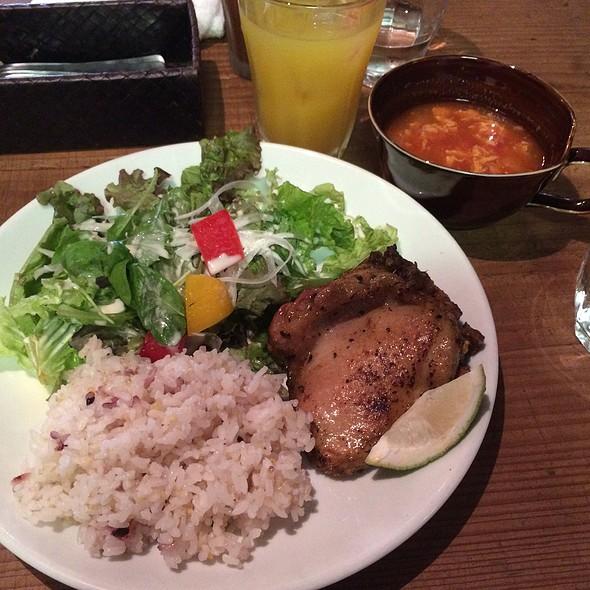 Grilled Chicken @ water