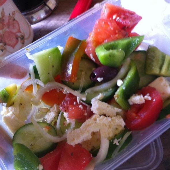 Greek Salad @ Tonys Chicken Shop