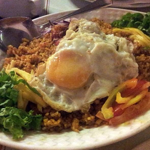 Ginamos Rice Platter @ Punot Restaurant