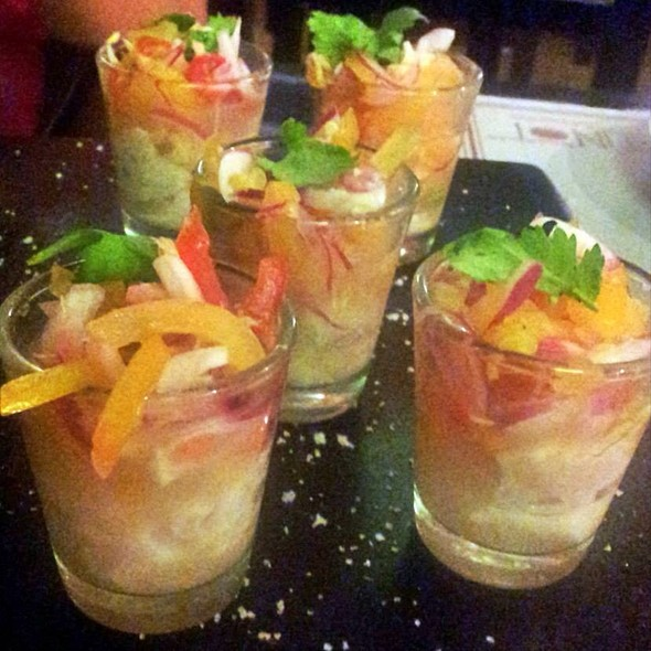 Tangigue Kilawin Shots @ Punot Restaurant