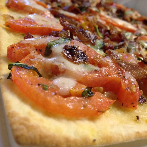 Margarita Flatbread W/ Bacon @ Pat's Select Cherry Hill
