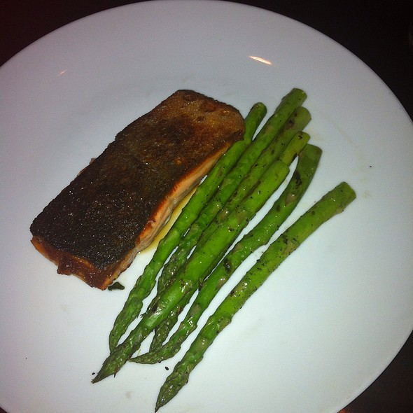 Asparagus With Salmon - Monarch @ Hotel Zaza, Houston, TX