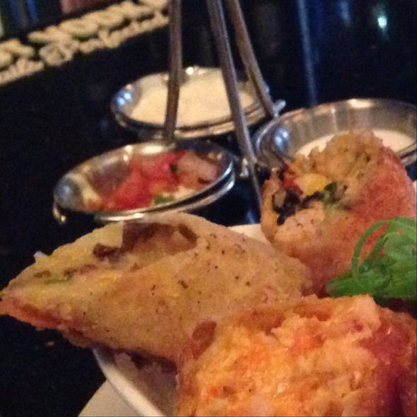 Double Stuffed Potato Spring Rolls - The Standard Restaurant & Lounge, Albany, NY