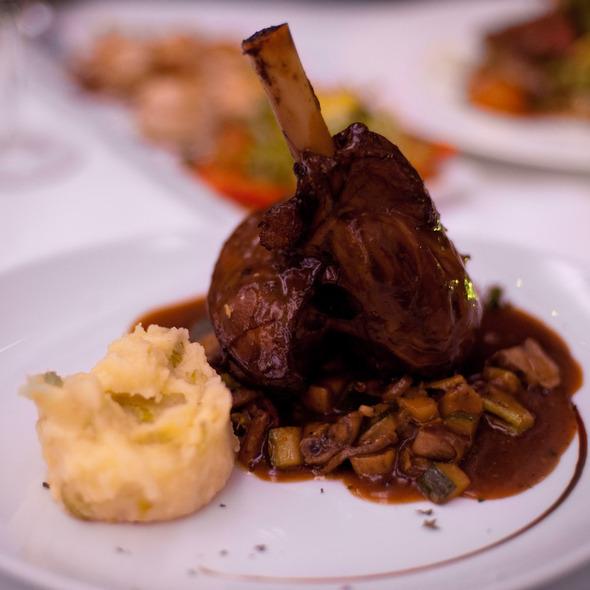 Lamb Shank @ LAVA Restaurant