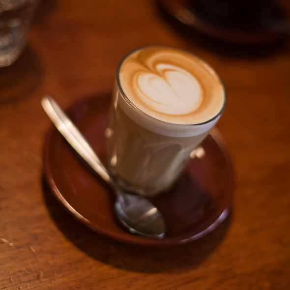 Cafe Latte @ Min Lokal