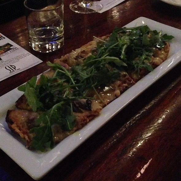 Mushroom Flatbread - Southport and Irving, Chicago, IL
