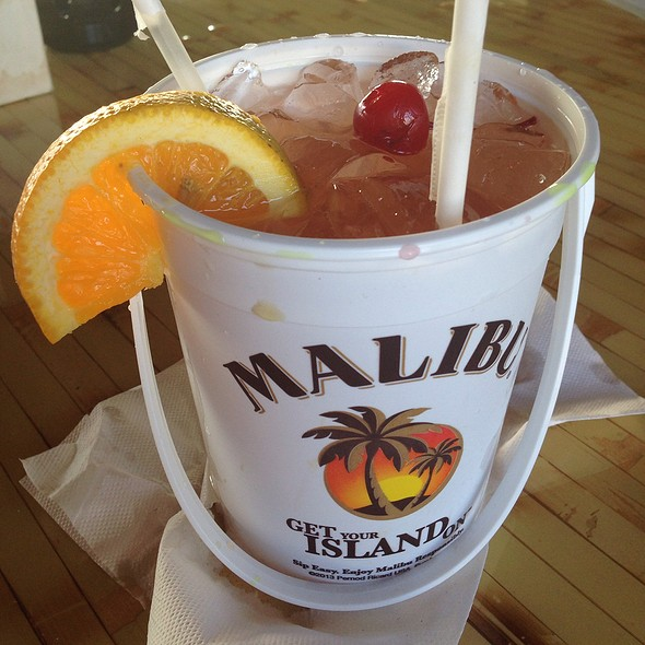 Malibu Rum Punch Bucket @ Marker 8