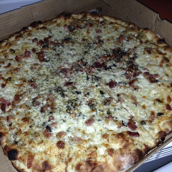 Applewood Bacon And Fried Oregano @ Flatbread Of Englewood