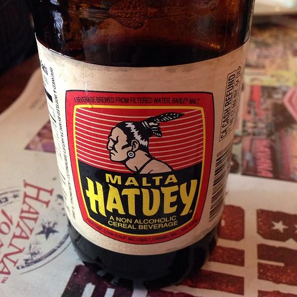 Malta Hatuey Soda @ Havana 1957 Cuban Cuisine Lincoln Road
