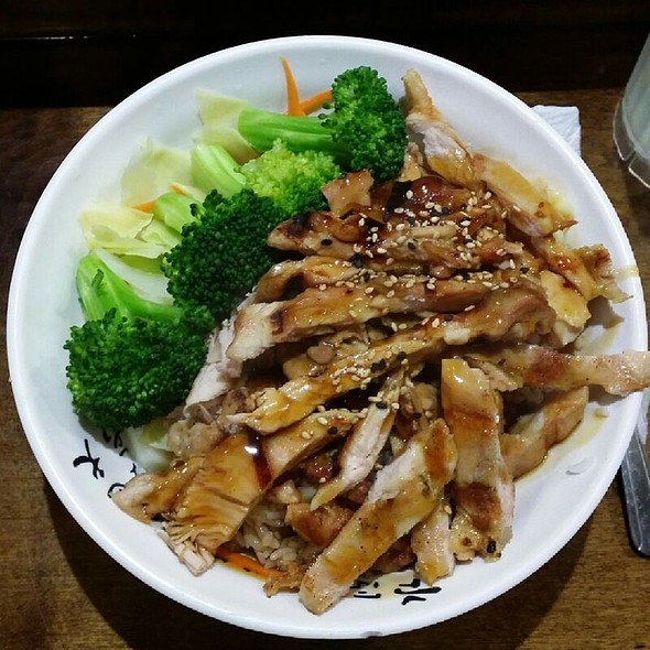 Chicken Teriyaki @ Starfish Sushi