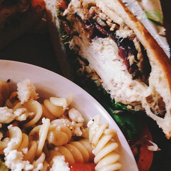 Chicken Club Ciabatta @ Taziki's Mediterranean Cafe