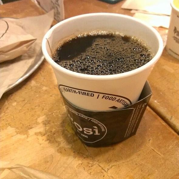 Freshly Brewed Coffee @ Cosi
