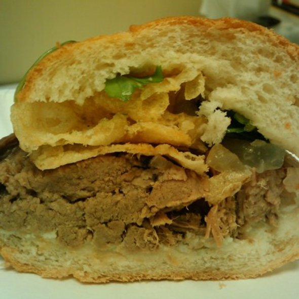 Beef Brisket Sandwich @ Bakesale Betty