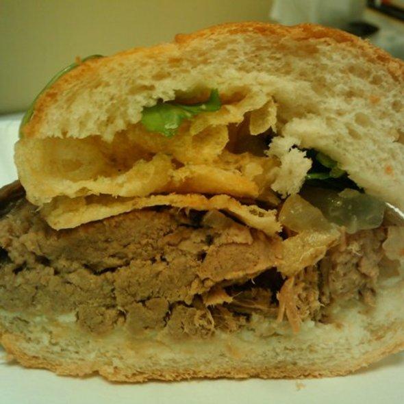 Beef Brisket Sandwich @ Bakesale Betty