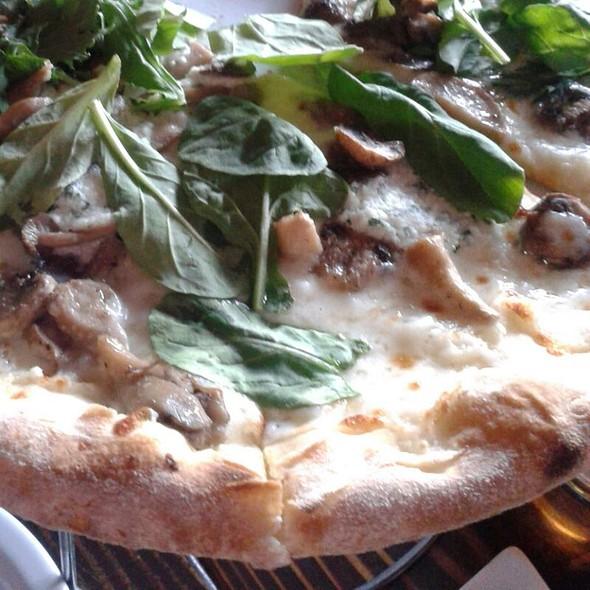 Mushroom Pizza - Areal Restaurant, Santa Monica, CA