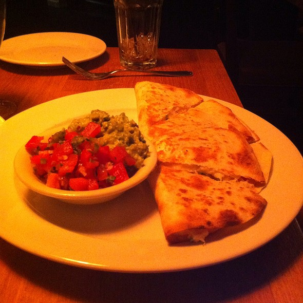 Crab Quesadilla @ Parkside Grille