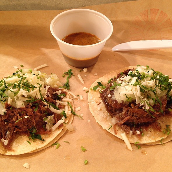 Beer Braised Beef Taco @ Cocina