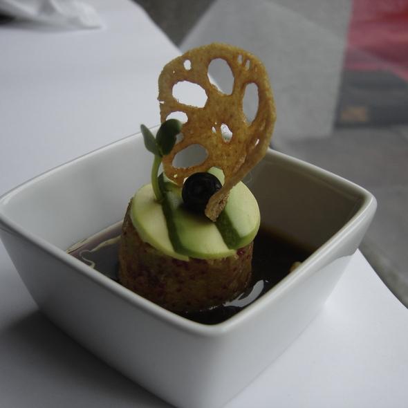 Tartare de saumon et thon @ Fu.shi