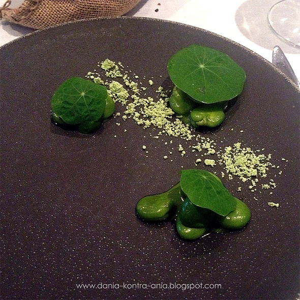 Rabbit, broad bean, lavender