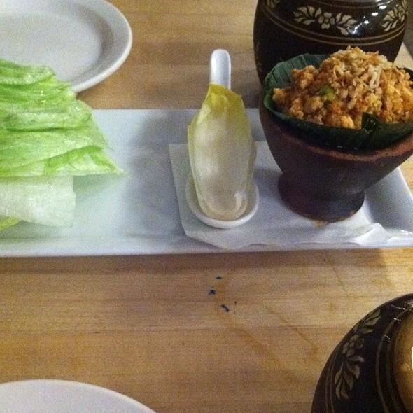 Chicken Lettuce Wraps @ Land Thai Kitchen