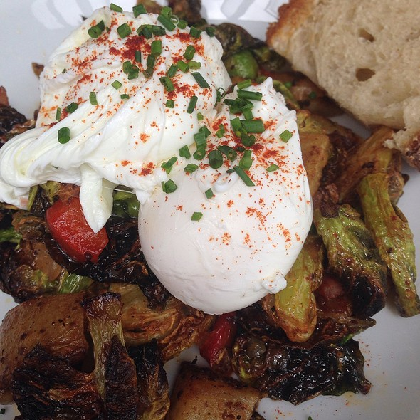 Brussel Sprout Hash @ Sunshine Co.