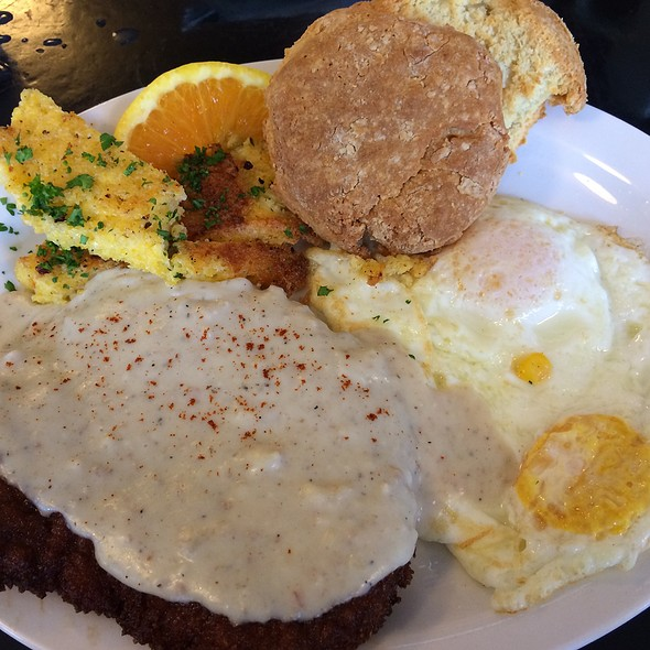 Country Fried Steak @ City State Diner