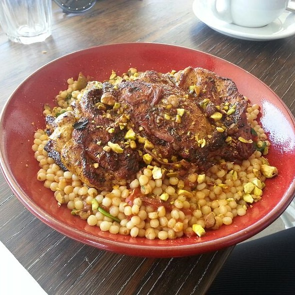 Chicken with Couscous @ Shuk