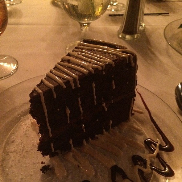 Triple Chocolate Cake - Ryan's Restaurant, Winston-Salem, NC