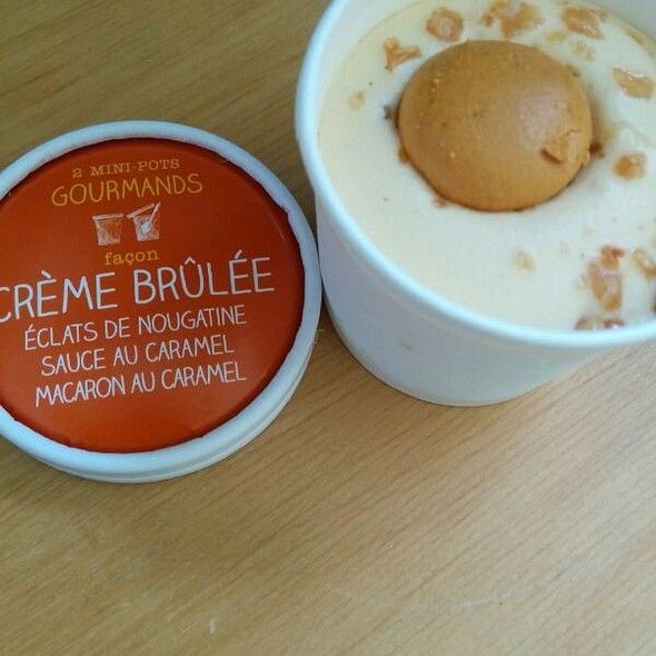 Ice Cream Creme Brulee @ Picard