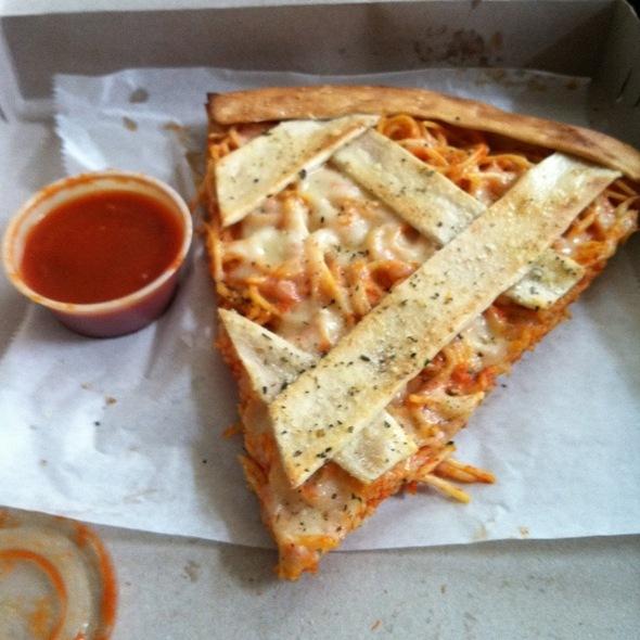 Spaghetti Pizza @ Pasta Mista - Canton