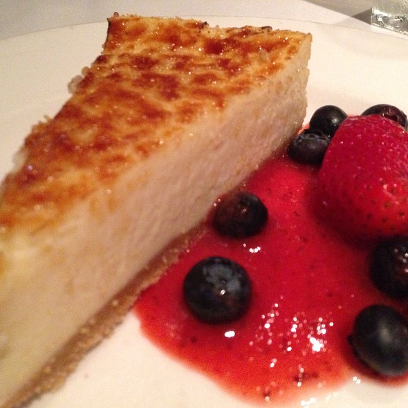 Cheesecake - The Capital Grille - NY- Wall Street, New York, NY