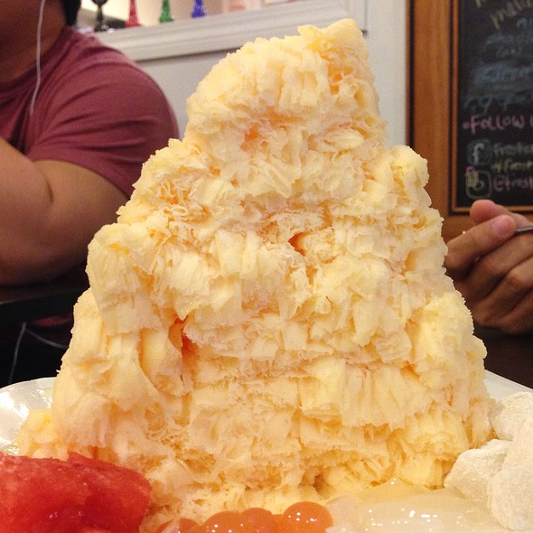 Papaya Snow Ice