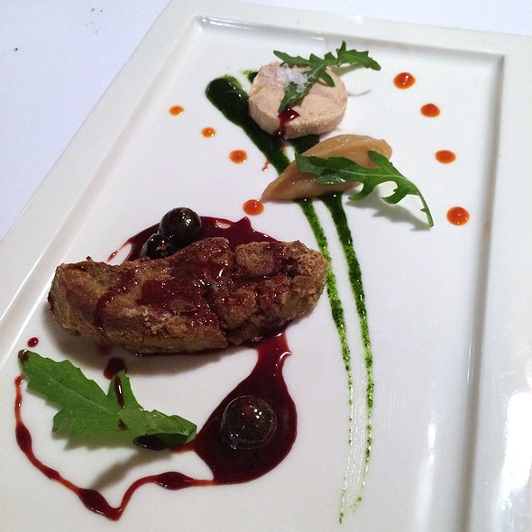 Foie Gras Combination of Pan-fried with Blueberry & Porto Wine Terrine @ Opera House Italian Restaurant & Bistrot