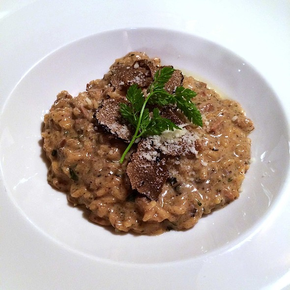 Porcini Mushroom Risotto with Black Summer Truffle @ Opera House Italian Restaurant & Bistrot
