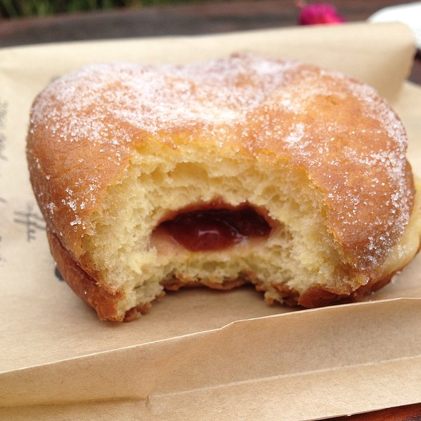 Strawberry Jam Donut