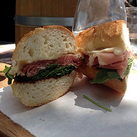 Proscuitto And Brie Sandwich