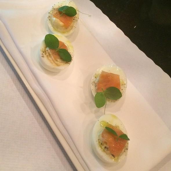 Devilled Eggs With Salmon - Biba Restaurant, Sacramento, CA