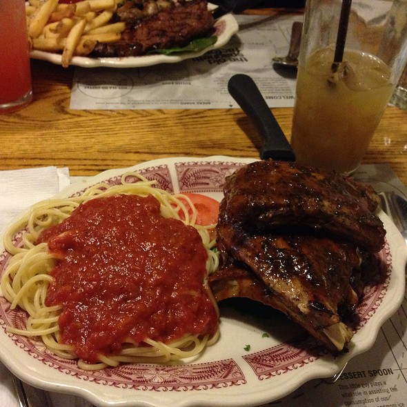 Baby Backribs @ The Old Spaghetti Factory