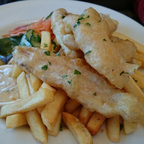 Fish and Chips @ Pork Barrel Cafe