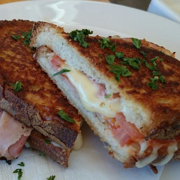 Ham Cheese Tomato Toasted Sandwich @ Pork Barrel Cafe