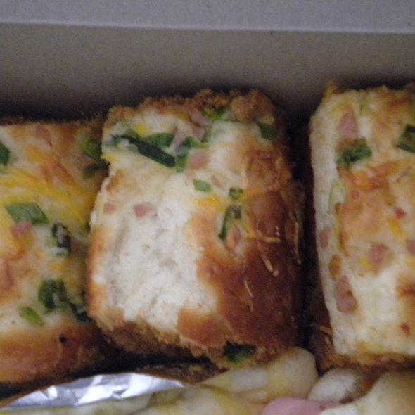 Ham pork sung bun @ Fancy Wheatfield Bakery Inc
